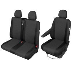Housse d'assise complète 3 places pour Renault Trafic, Opel Vivaro et Nissan Primastar