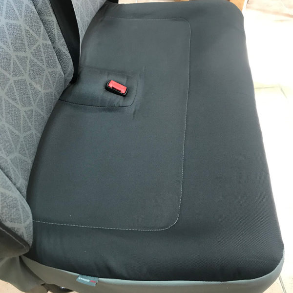assise complète 2 places master gris