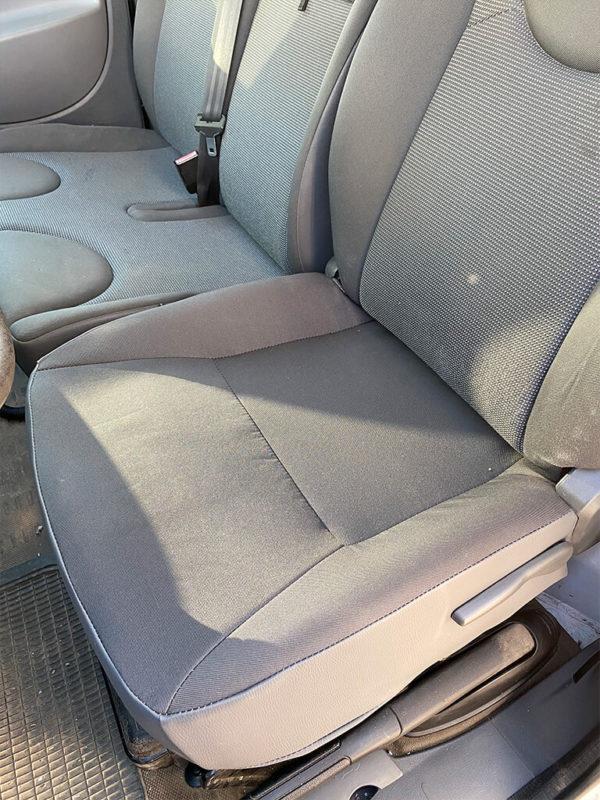 Assise complète de siège utilitaire grise Jumpy
