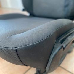 Assise complète grise de siège utilitaire Renault Master 3